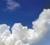 入道雲と青い空