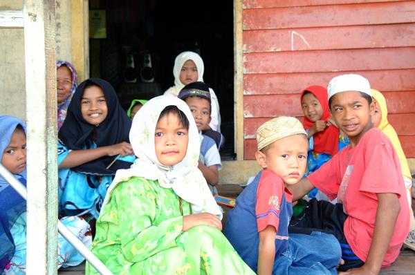 マレーシアの子供達