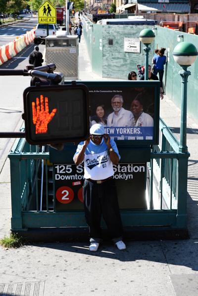 ニューヨークで見た黒人